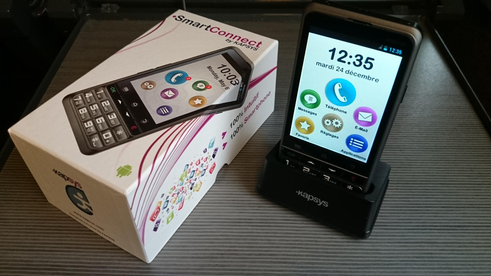 meilleur smartphone senior